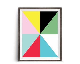Bright Wall Art, Colorful Artwork, Art Modern, Abstract Print, Colorful Art, Colorful Abstract, Digital Download, Digital Wall Art, Prints