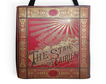 The Star of the Fairies Book Cover Tote Bag