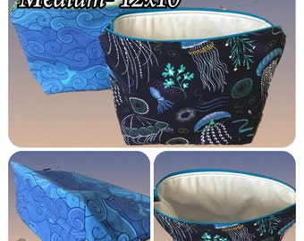 Custom Medium Wet Bag- Storage waterproof diaper bag made to order- over 65 fabric choices- Tula options