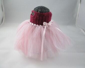 BJD Clothes Littlefee Mauve Tutu Dress
