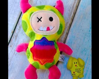 Handmade Plush Monster