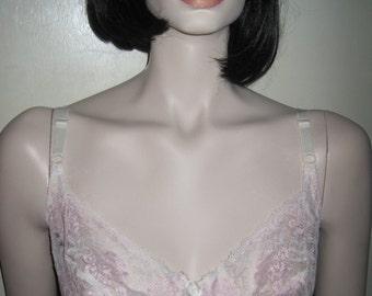 Vintage WHITE LACE Blanche Bra Size 34D