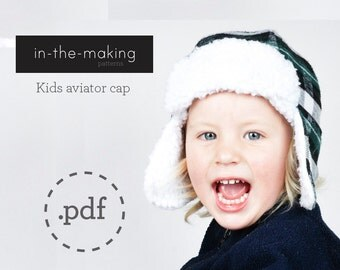 Kids aviatorhat pattern PDF