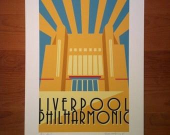 The Philharmonic, Concert Hall, Liverpool, Art Deco, thejonesboys, Liverpool prints