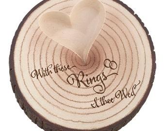 Woodland Ring Bearer Log