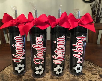 Personalized Soccer Tumbler, Sports tumbler, Soccer tumbler, Sports tumbler