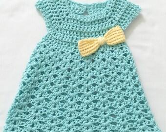 Crochet Summer Little Girl Dress