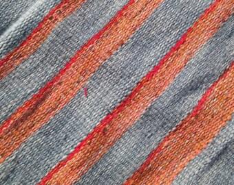Handwoven Rag Rug -  VINTAGE Home Decor