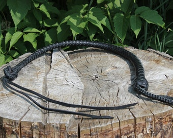 Dog Whip Leather