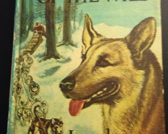 Black Beauty and Call of the Wild in one 1963 Hardback book