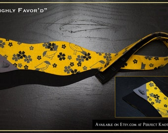 """PK's Crown Holder Series """"Highly Favor'd"""" Freestyle Bow Tie"""