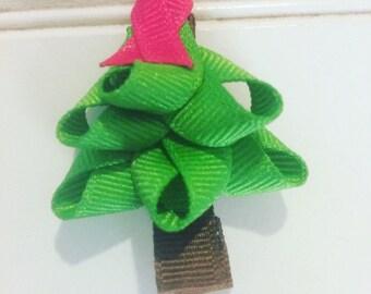 Christmas tree infant clip
