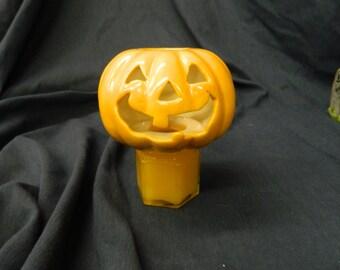 Jack O'Lantern candle shade