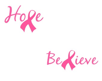 Breast Cancer Awareness Vinyl