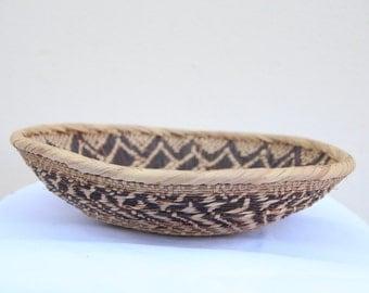 Flat Tonga basket