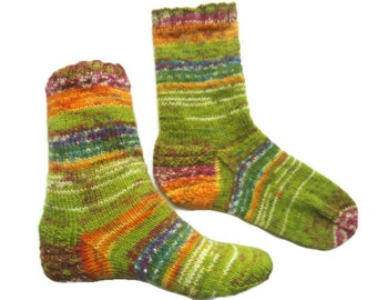 Trendy colors, knitted wool socks, green socks, short non shrink socks,no slide women socks, ankle wool socks, comfortable soft cozy socks