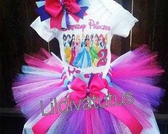 Handmade Princesses tutu set