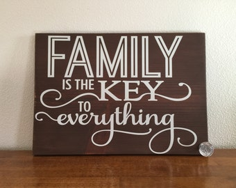 Family Is The Key To Everything