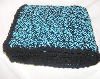 Double Cozy Crocheted Afghan