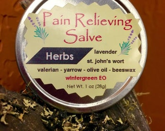 Aja Pain Relieving Salve, Pain Relief, Topical Relief, Pain Topical, Arthritis Salve, Pain Salve, Herbal Remedies, Medicinal Herbs