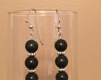 African Jasper Earrings
