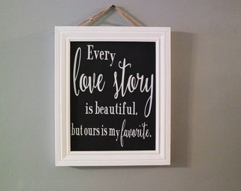 Wedding Chalk Board Sign, Shabby Chic Chalk board sign, Reception Sign
