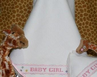 Baby Girl Bed Set