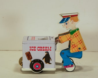 Toy Ice Cream Man with Box
