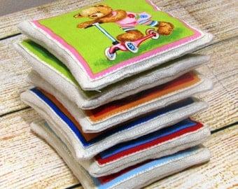 Bean Bag, Bean Bag Toy, Rice Bag, Rice Heating Pad, Microwave Rice Bag, Rice Heating Pad, Sensory Bean Bags, Sensory Toy