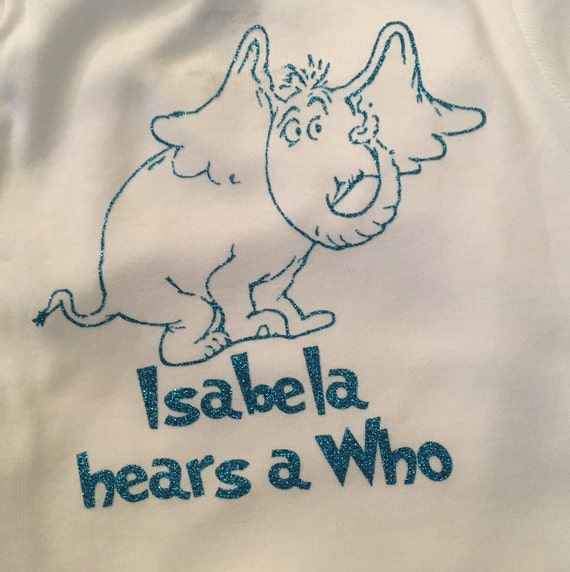 Horton Hears A Who Onesie By BellaBrink On Etsy