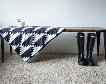 SOLD - Hand-crafted Contemporary Bench