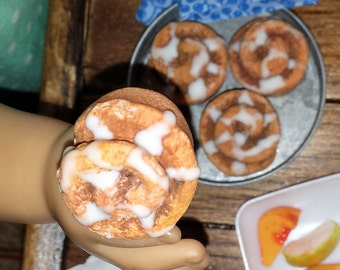 American Girl Cinnamon Rolls