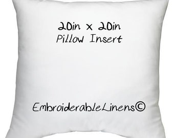 Pillow Insert 20in x 20in