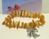 100% Natural Baltic Amber Astrology Zodiak signs zodiac sign SAGITTARIUS talisman mascot souvenir beads birthday gift present bracelet