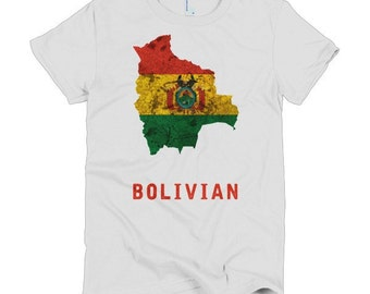 The Bolivian Flag T-Shirt (women)