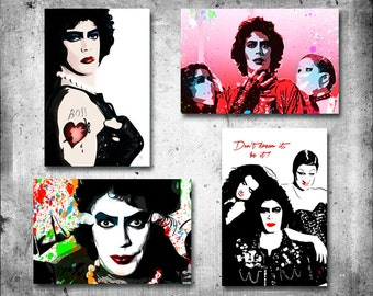 Rocky Horror Picture Show | 4x6 Glossy Pop Art 4 Pack