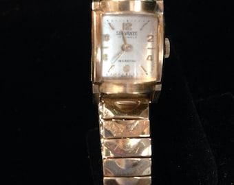Vintage servante 17 jewles wrist watch.