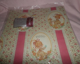 Vintage Puddin doll wrapping paper NIP  2 sheets