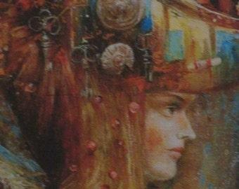 Architecture carnivals. Artist Sergey Lukyanov.Giclee.Canvas. Signed