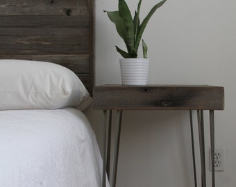 Reclaimed Wood from the Hollywood Bowl Queen Bedroom Set