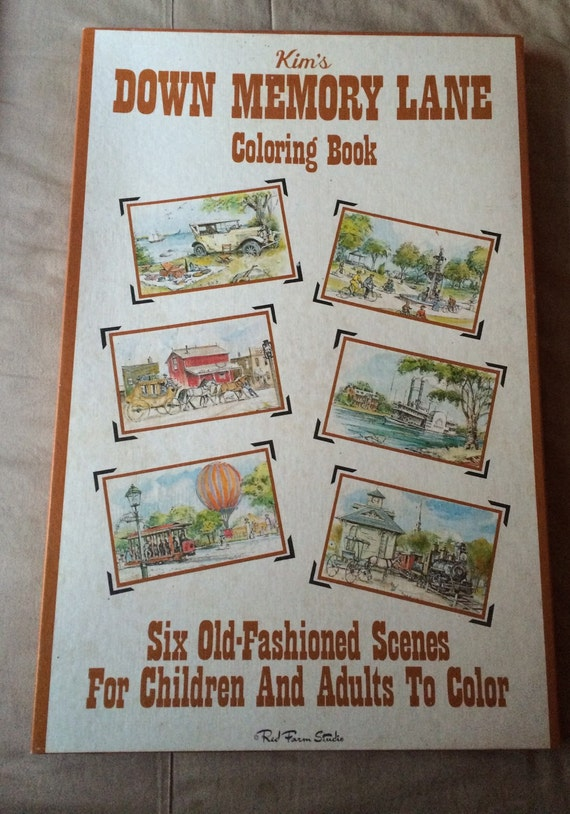 Vintage Red Farm Studio Kim s Giant Coloring Book Down