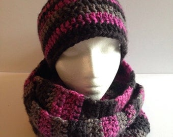 All scarf and tuque for woman