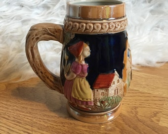 Decorative Stein Tankard