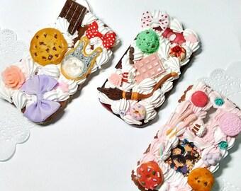 Custom deco den phone case / Whipped cream case/ any device