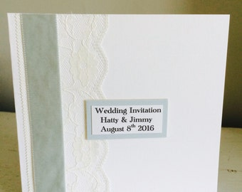 Classic Elegance Collection, Wedding Invitation (Day)
