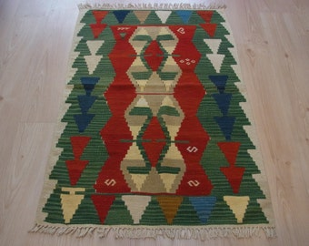 116 X 83 cm / 3'8'' X 2'7'' ft Bohemian Rug,Small Rugs,Housewarming,Gifts,Doormatt,Front Door Matt,Welcome Matt,Handmade,Rugs,Handmade Rug