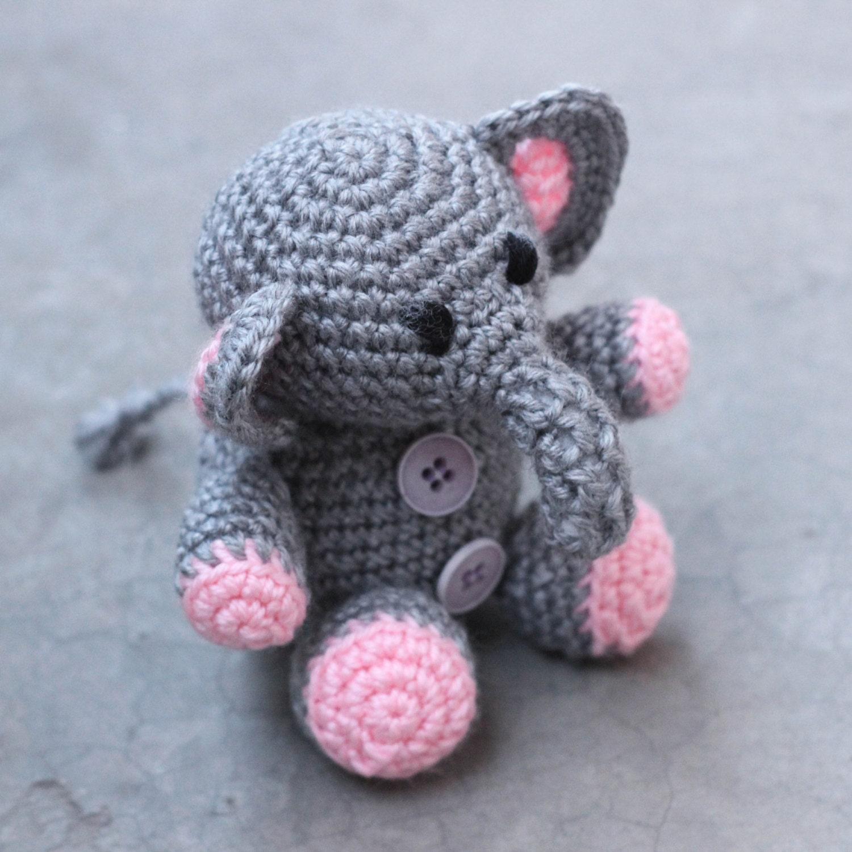 Amigurumi elephant amigurumi toys handmade amigurumi baby