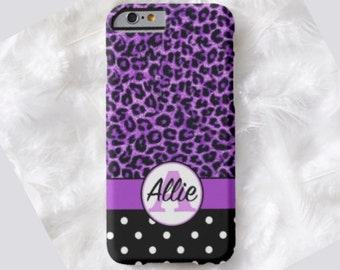 LEOPARD Cell Phone Case, iPhone 6s case, Note 5 case, leopard phone case, iPhone 6s plus cell phone case, iPhone 6 plus case, S6, iPod  #651