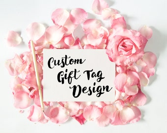 Custom gift tag Design