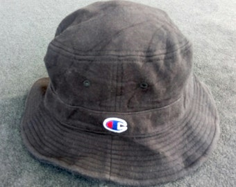 Vtg CHAMPION Bucket Hat